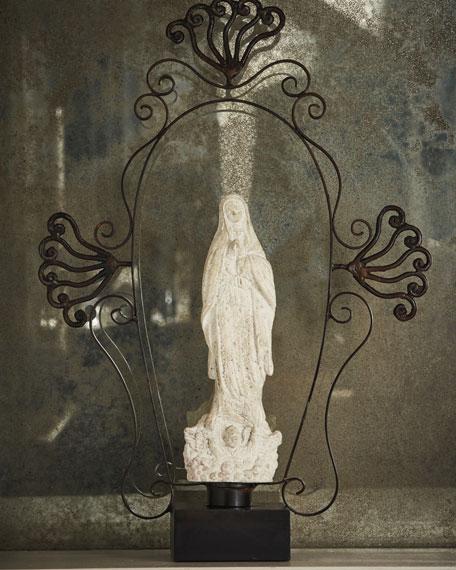 El Aura Guadalupe Saint Sculpture