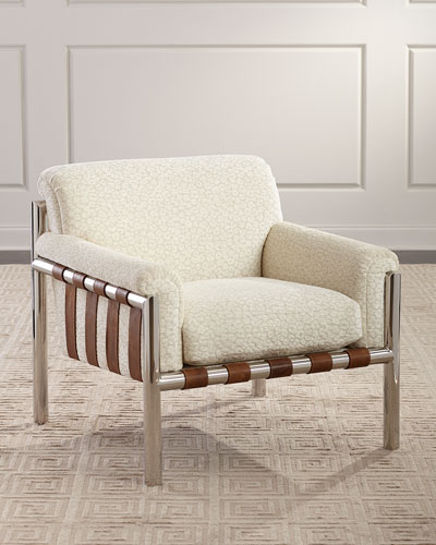 Waylon Faux-Shearling Lounge Chair