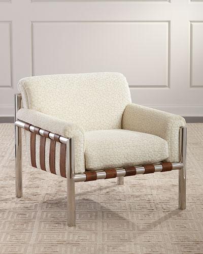 Waylon Chenille Lounge Chair