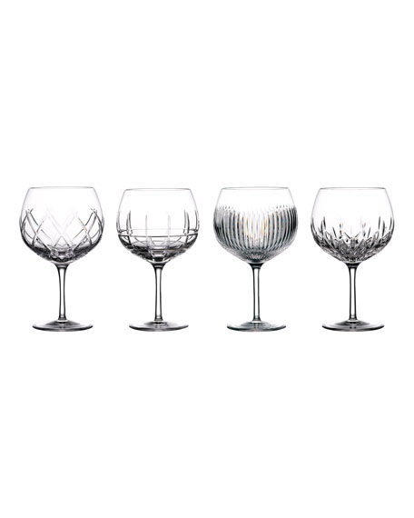 Waterford Crystal Gin Journey Assorted Balloon Glasses, Set