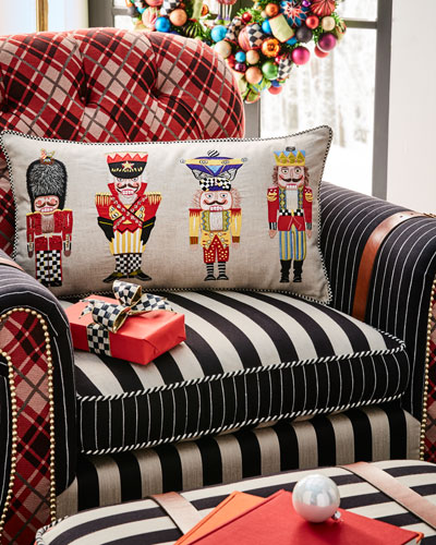 Nutcracker Brigade Lumbar Pillow