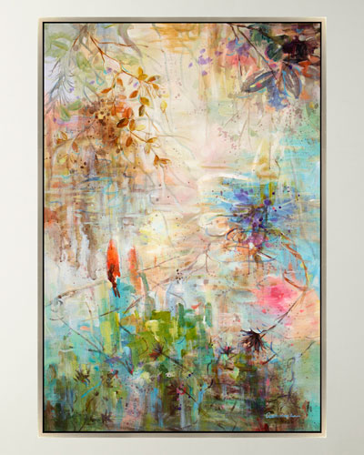 Spring Reflections Giclee Canvas Art