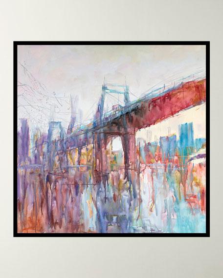 """I Dream of Brooklyn"" Giclee Canvas Art"