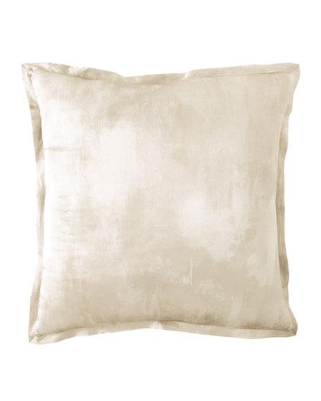 Textured Silk European Sham