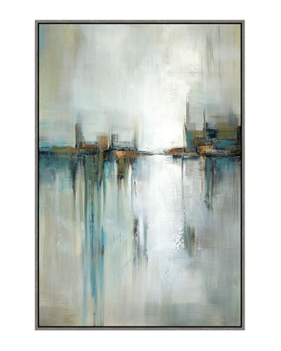 Mirrored Reflection II Giclee Canvas Art