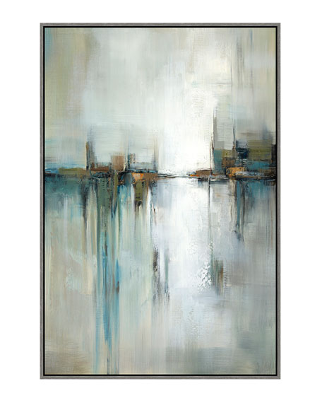 """Mirrored Reflection II"" Giclee Canvas Art"