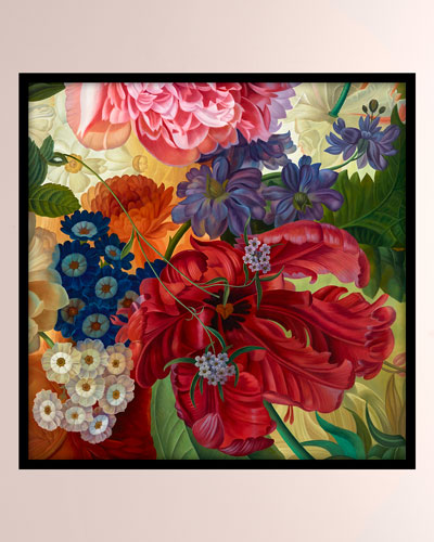 Floral Bounty Giclee Canvas Art