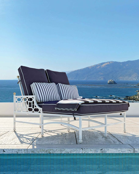 Barclay Butera Double Chaise