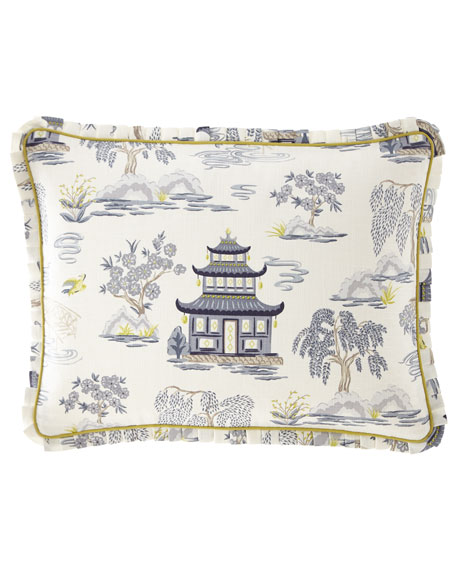 Shang Pagoda Full/Queen Duvet Set