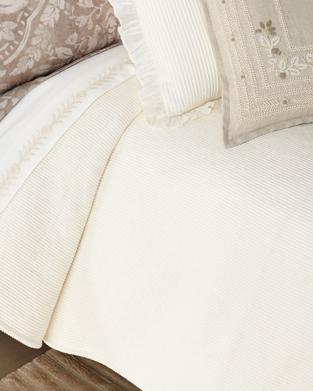 Ralph Lauren Home Cortona King Bed Blanket