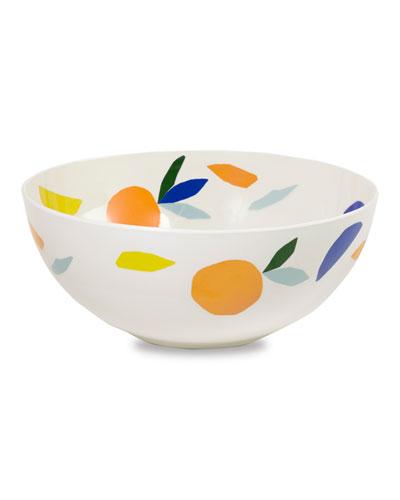 citrus twist serving bowl