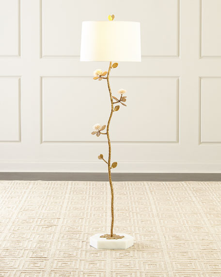 Quartz Bloom Floor Lamp