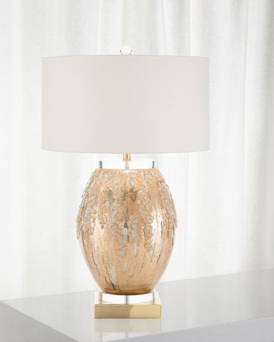 Ethereal Silvered Lamp