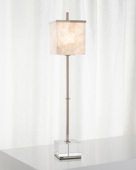 Alabaster Aglow Lamp
