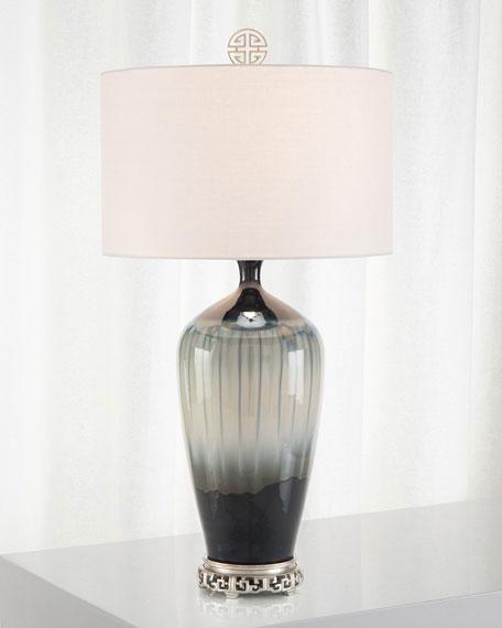 John-Richard Collection Glazed Ceramic Table Lamp