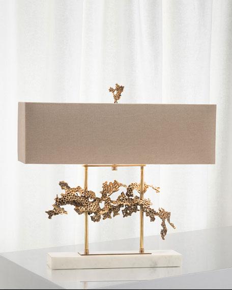 Sculpted Aperture Table Lamp