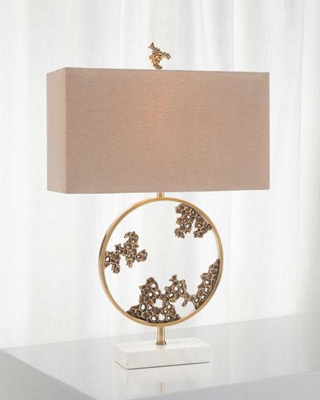 John-Richard Collection Aperture Ring Table Lamp