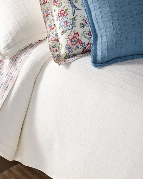 Texture Full/Queen Bed Blanket