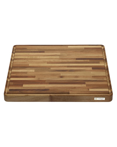Gourmand Natural Walnut Professional Cutting Board