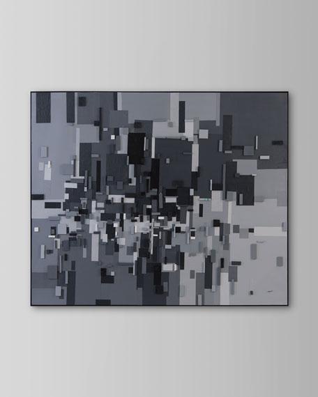 """Spatial"" Giclee Art by Teng Fei"