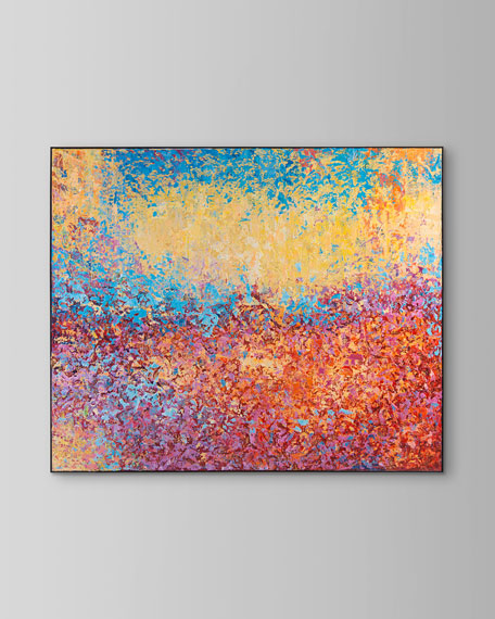 """""""Motley"""" Giclee Canvas Art by Ja Ding"""