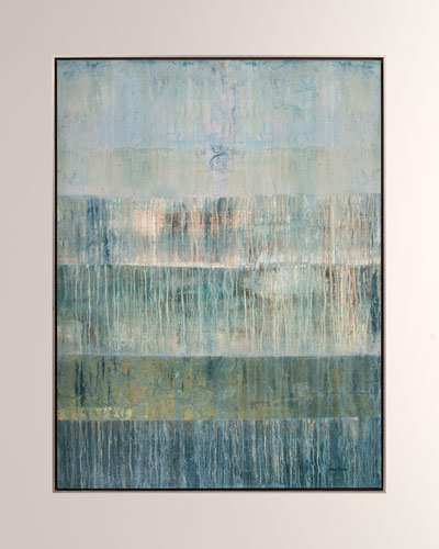 Strata Giclee Canvas Art by Shaye Rawson