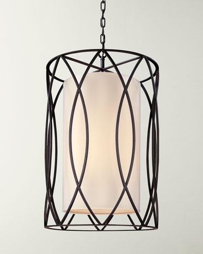 Large Long Sausalito Light Pendant