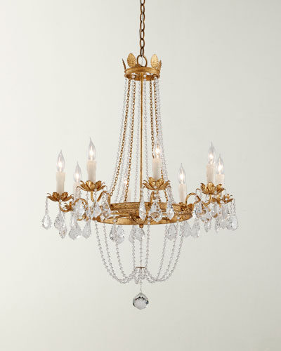 Small Viola Chandelier