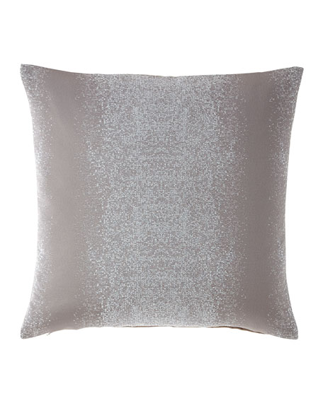Flurry Steel Decorative Pillow