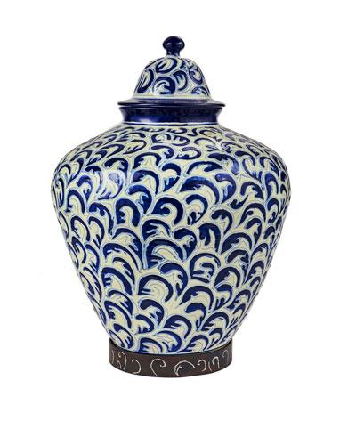 El Tibor Pluma Vase