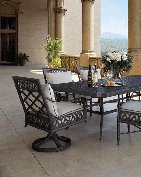Biltmore Estate Swivel Dining Chair