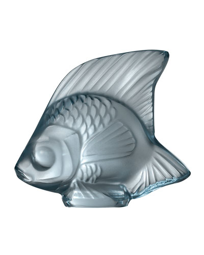 Fish Sculpture  Persepolis Blue