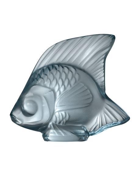 Fish Sculpture, Persepolis Blue
