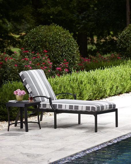 Raleigh Adjustable Outdoor Chaise