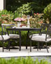 Raleigh Round Outdoor Dining Table