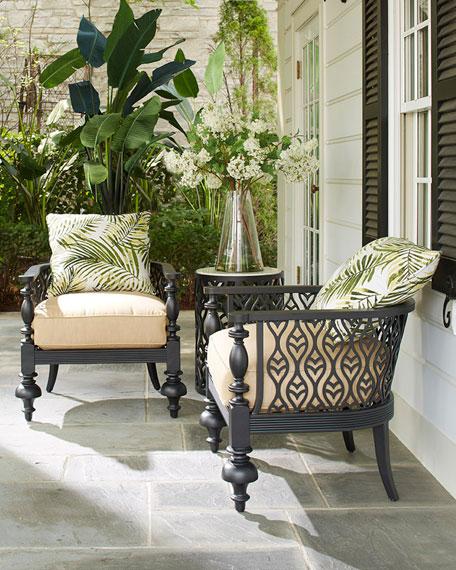 Hemingway Plantation Accent Chair Seat