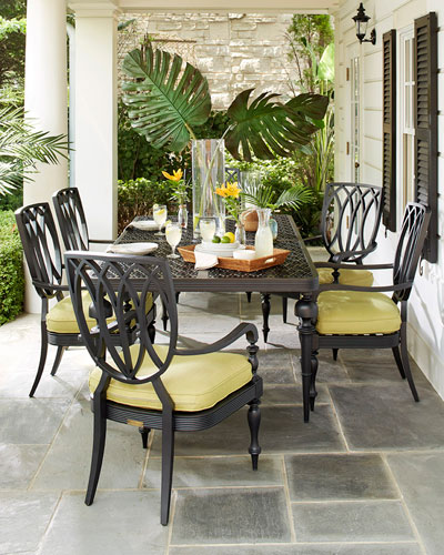 Hemingway Plantation Rectangular Dining Table