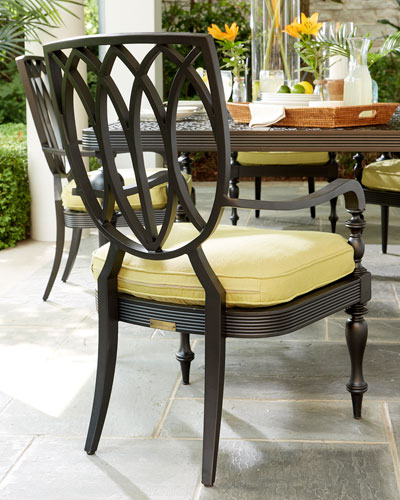 Hemingway Plantation Dining Arm Chair