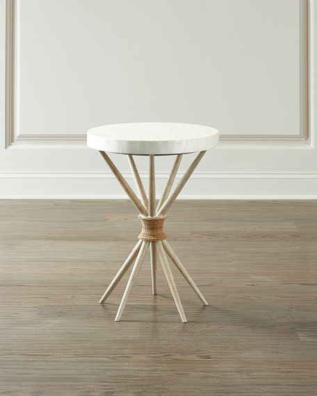 Hooker Furniture Lissardi Capiz Shell Accent Table