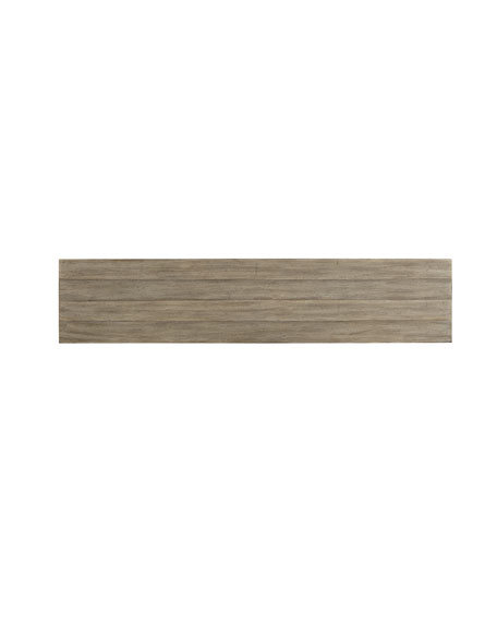 Lissardi Console Table with Shelves