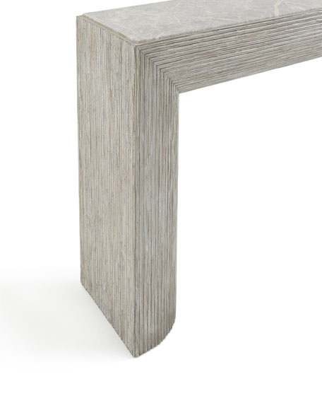 Lissardi Marble-Top Console Table