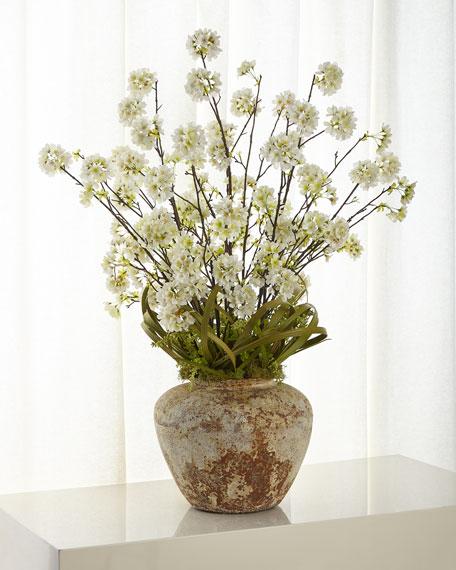 John-Richard Collection Asian Cherry Blossom Arrangement