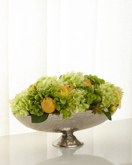 Lemon Lime Zest Floral Arrangement