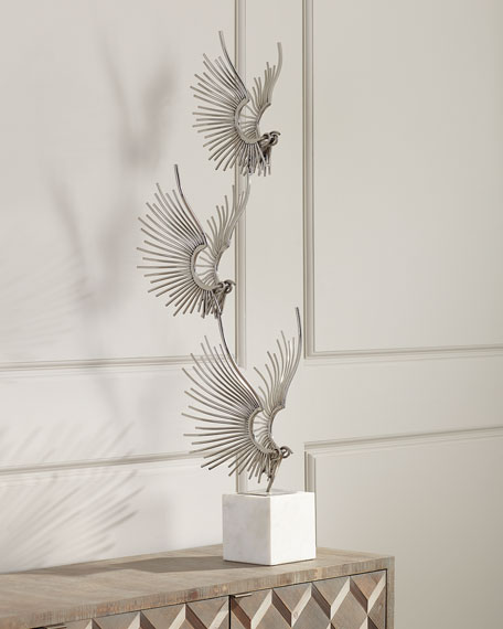 John-Richard Collection Sculpted Birds In Flight