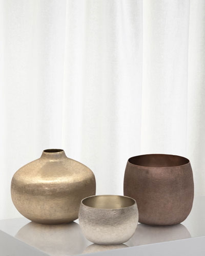 Mint Artisan Vases  Set of 3