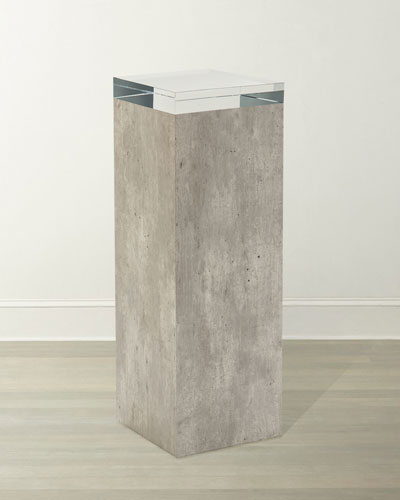 Piazza Pedestal Table
