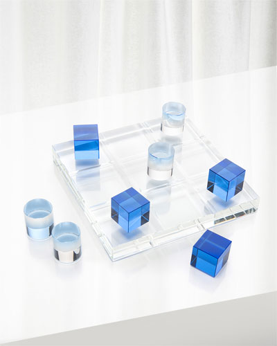 Crystal Game Board in the Blues