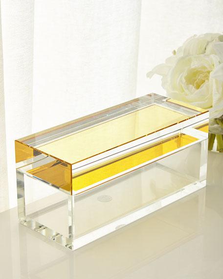 Saffron Crystal Box