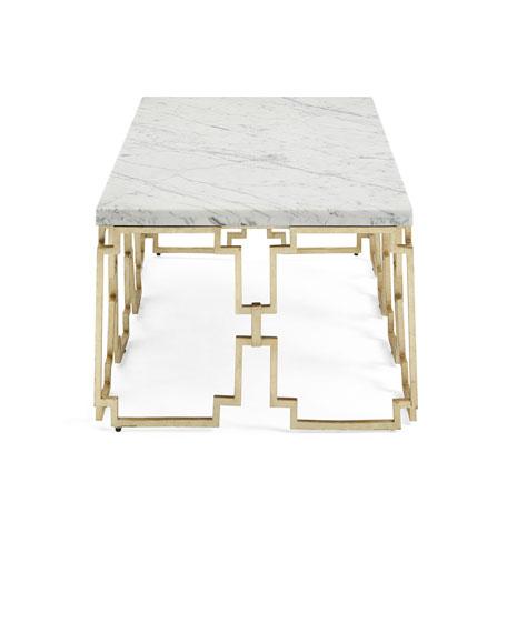 Watkins Marble Top Coffee Table