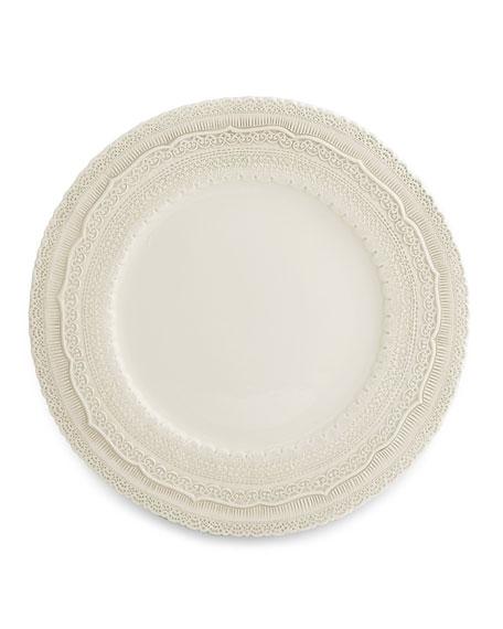 Arte Italica Finezza Cream Charger Plate